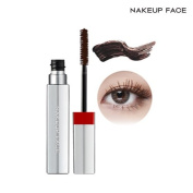 [NAKE UP FACE] C-Cup Deep Glam Mascara 2 Colours, No Flaking, Zero Smudging