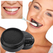 Toraway Natural Organic Activated Teeth Whitening Charcoal Bamboo Powder Toothpaste