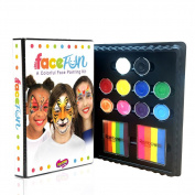 Silly Farm Face Fun Kit - Deluxe Rainbow