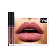 Coosa Wonderful Colour Waterproof Long Lasting Matte Lip Gloss Lipstick Cosmetic - Colour #