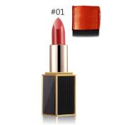 Mmrm Women Shining Ryukin Gold Lipstick Bright Moisturising Lipstick Lip Makeup - #1