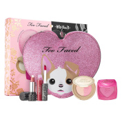 LIMITED EDITION BETTER TOGETHER CHEEK & LIP MAKEUP BAG SET BY KAT VON D AND TOO FACED