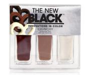 The New Black Crunchy Nail Polish 3-Piece Set