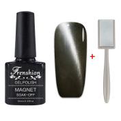 Frenshion 10ML Magnetic Soak-off UV LED Cat Eye Colour 3D Gel Nail Polish Base Top Nail Art Manicure 6568