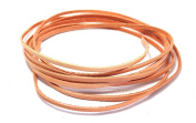 AstroG @ GL4 Veg Tan Cowhide Leather Strip Cord Small Size 0.3 x 200 cm
