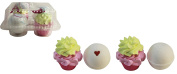 Cupcake Bath Bombs Four Piece Gift Set