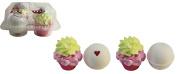 Cupcake Bath Bombs Four Piece Gift Set