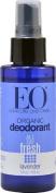 EO Essential Oil Products Organic Deodorant Spray Lavender -- 120ml - 3PC