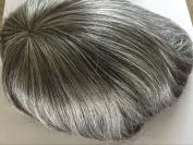 18cm x 23cm Mono Base Men's Human Hair Toupee Hair System