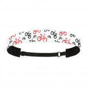 Mavi Bandz Adjustable Non-Slip Fitness Headbands - Cycle Bicycle Bike