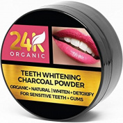 Activated Charcoal Powder Natural Teeth Whitening System
