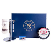 RoyalShave Kensington Classic Safety Razor Set