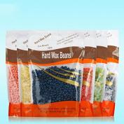 Bingirl 300g Beauty Hair Removal Hard Hot Film Wax Beans No Strip Depilatory Pellet Pellet Waxing Bikini Hair Removal Bean Wax Bead for Face Underarms Arm Leg