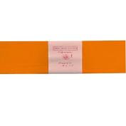 Alberts Large Crepe Paper - Orange - 50cm x 250cm