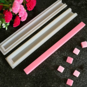 Echodo Square Tube Column Silicone Soap Candle Mould Embed Soap Making Supplies Silicone Mould for Soap