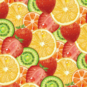 Best Wrapping Paper Fruit Juice Family -Kiwi,Strawberry ,Orange Wrapping Paper