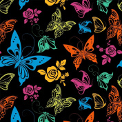 Best Wrapping Paper Colourful And Energetic Butterfly Wrapping Paper