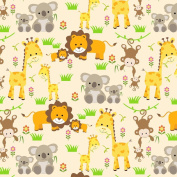 Best Wrapping Paper Happy Zoo Animals Wrapping Paper