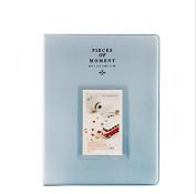 Fujifilm Instax Mini Photo Album Hellohelio 128 Pockets Album For Fuji Instant 8 25 26 70 90 50s - Blue