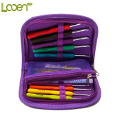 Crochet Hook Set with Ergonomic Crochet Hooks for Ultimate Comfort-Crochet for Longer with No Hand Pain! Crochet Kit with Sturdy Case, 9 Crochet Needles & 17 Accessories to Stay Organised
