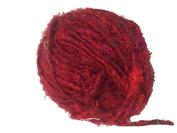 Recycled Sari Silk Super Bulky Yarn - Red