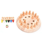 Memory Match Stick Chess Game Early Educational Wooden Toy Gift K0135