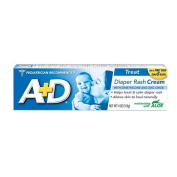 A+D Zinc Oxide Nappy Rash Cream with Aloe 120ml (113 g)