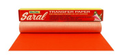 Saral Wax Free Transfer Paper - Red - 30cm x 3.7m Roll