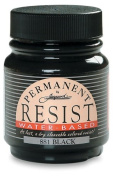 Jacquard Waterbased Resist, Black, 70ml