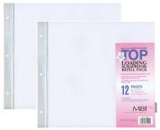 2-PACK - MBI 30cm x 30cm Scrapbook Expansion Pages, 6sht