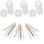 30pcs Golden Colour Eye Cross Stitch/ Embroidery Hand Needles - Size 24