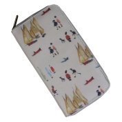 Officially Licenced LS Lowry Artwork Ladies Purse. Yachts Pattern. Fashion Accessory, Gift Idea for Women, Lady, Girls.