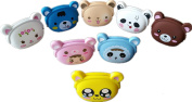 Women Girls Wallet Kawaii Cute Cartoon Animal Silicone Jelly Coin Bag Purse Kids Gift Random Colour