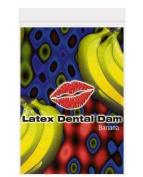 Latex dental dam, banana (Package Of 5) by multiple