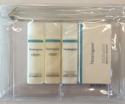 Neutrogena Travel Size Shampoo Conditioner Body Lotion and Bath Soap Toiletires Kit