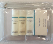 Neutrogena Travel Size Shampoo Conditioner Body Lotion and Bath Soap Toiletires Kit
