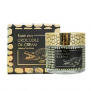 Farmstay Crocodile Oil Cream 70ml Anti Wrinkle Whitening Nutrition Elasticity