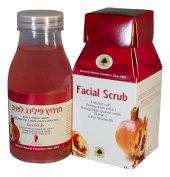 SCHWARTZ FACIAL SCRUB Enriched with Pomegranate extract Pomegranate grained seeds, Vitamin E & Pro Vitamin B5 250ml/8.45fl.oz