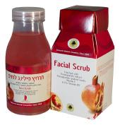 SCHWARTZ FACIAL SCRUB Enriched with Pomegranate extract Pomegranate grained seeds, Vitamin E & Pro Vitamin B5 250ml/8.45fl.oz