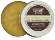 Whidbey Island Natural Gardener's Balm 30ml Spicy, earthy fragrance. Softens, soothes and protects hardworking hands. Handmade in the Pacific Northwest, USA