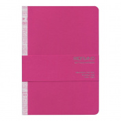 Fabriano Soft Touch Notebook, A5 Fuchsia
