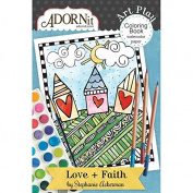 Love + Faith Mini Colouring Book
