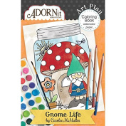 Gnome Life Mini Colouring Book