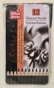 Artist's Charcoal Pencils--Set of 12