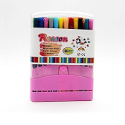 Freedi 36 Coloured Pens for Kids Adults Colouring Books Drawing Writing Watercolour Pen Arts Crafts Supplies