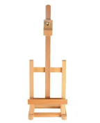 Fixture Displays Wood Easel for Countertop Use with Height Adjustable Header Clamp - Natural 19460 19460-NF