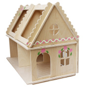 Handmade Doll House Dolls Family Doll House Toys for Little Girls