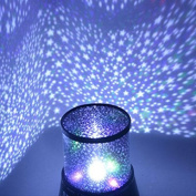 GLADLE Chic Design Star Sky LED Star Projector Night Light Amazing Lamp Master for Kids Bedroom Home Decoration(with USB Cable), Decor Christmas Gift,Blue