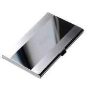 Fashion Stainless Steel Name Card Case Business ID Credit Card Holder Box