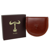 Mens Leather Change Wallet by Mala; Toro Collection Handy Gift Box